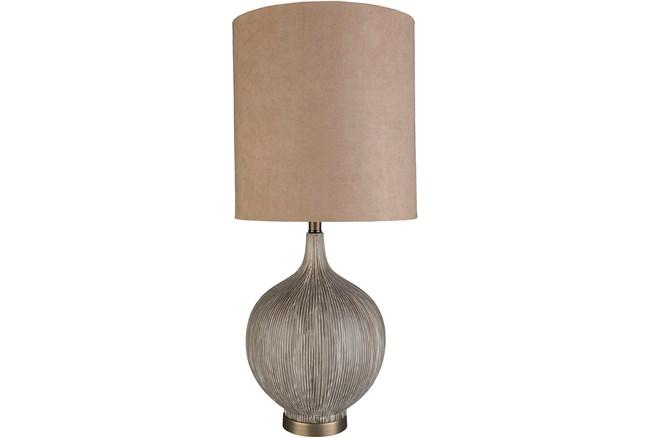 Table Lamp-Chiara Grey - 360