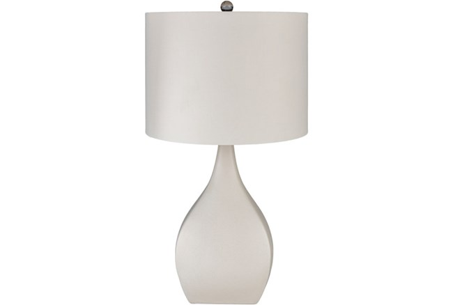 Table Lamp-Glazed Beige - 360