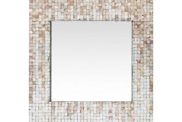 Mirror-Square Pearl Inlay 24X24