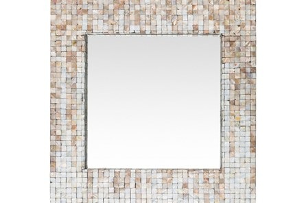 Mirror-Square Pearl Inlay 24X24