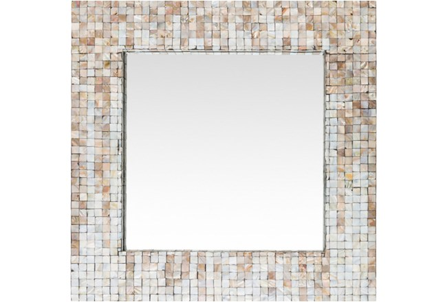 Mirror-Square Pearl Inlay 24X24 - 360