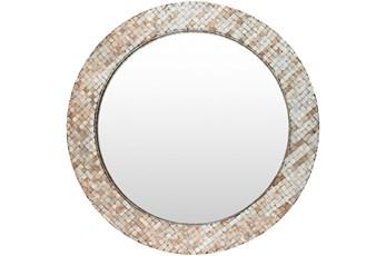 Mirror-Round Pearl Inlay 31X31
