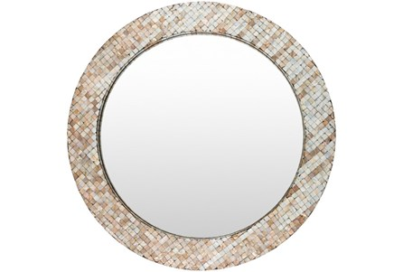 Mirror-Round Pearl Inlay 31X31