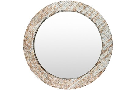 Mirror-Round Pearl Inlay 31X31 - Main