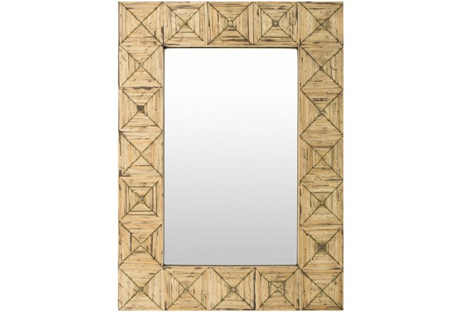 Mirror Bamboo Inlay 26x36 Living Spaces