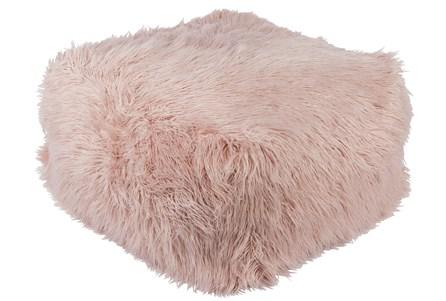 Pouf-Youth Faux Fur Light Pink