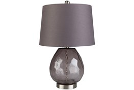 Table Lamp-Clear Sphere