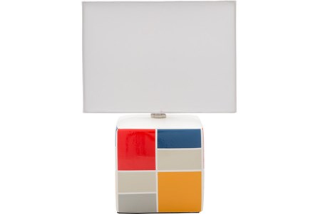 Table Lamp-Youth Geo Pattern Primary