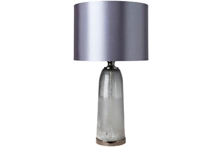 Table Lamp-Grey Glass - Main
