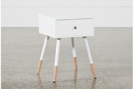 Eppa White Accent Table - Main