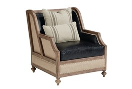 Magnolia Home Foundation Leather Chair