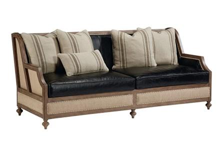 Magnolia Home Foundation Leather Sofa - Main