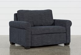 Alexis Denim Twin Sofa Sleeper