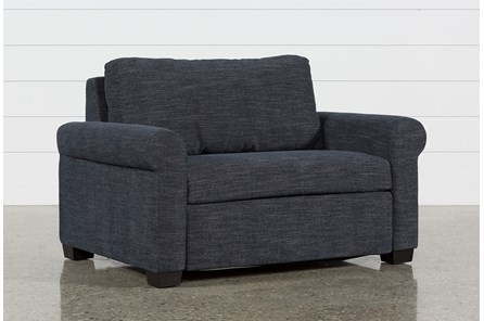 Alexis Denim Twin Sofa Sleeper - Main