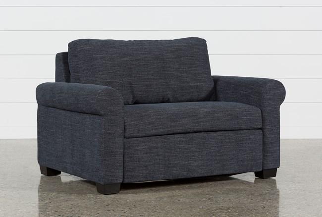 Alexis Denim Twin Sofa Sleeper - 360