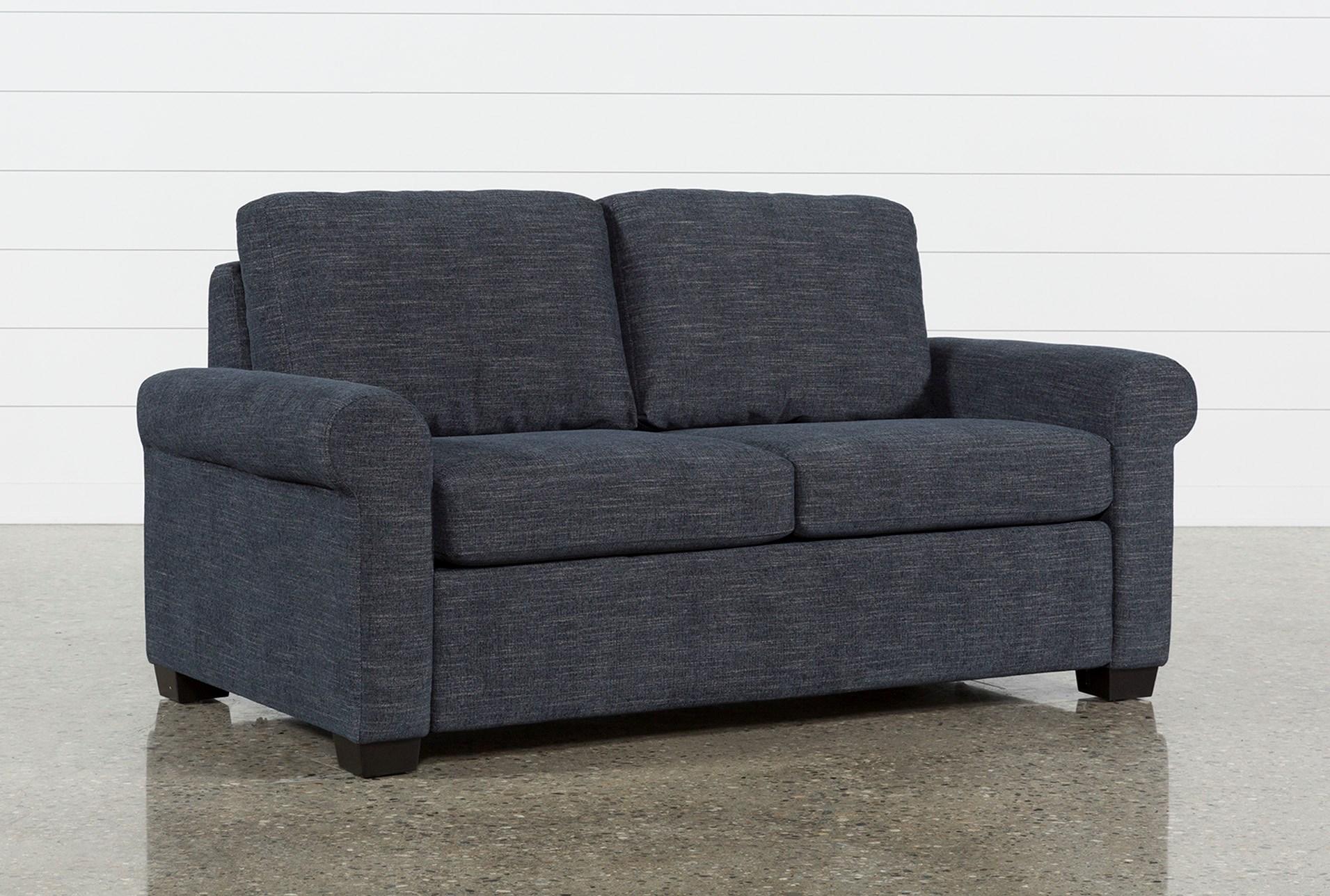 Alexis Denim Full Sofa Sleeper Living Spaces