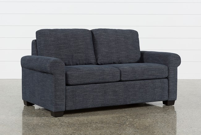 Alexis Denim Full Sofa Sleeper - 360