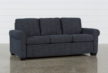 Sensational Alexis Denim Queen Plus Sofa Sleeper Home Interior And Landscaping Ologienasavecom