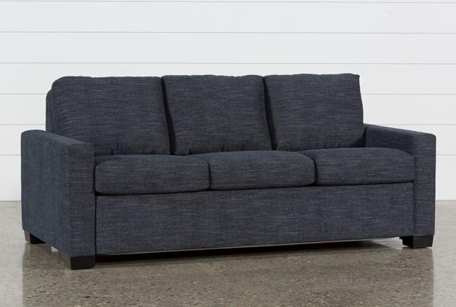 Mackenzie Denim Queen Plus Sofa Sleeper - 360