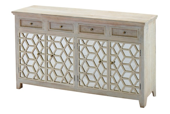 Mirrored 4 Door Sideboard - 360