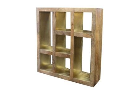 Brass Mix 7 Hole Bookcase - Main