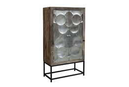 Capiz Wine Cabinet