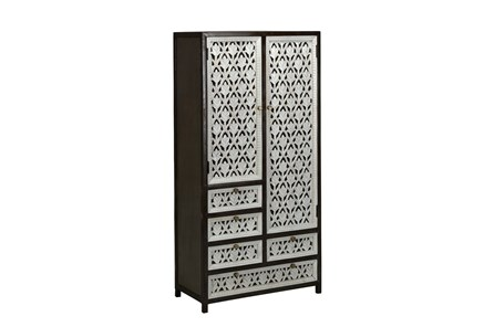 Perforated Doors Tall Cabinet - Main