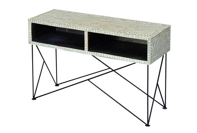 Bone Inlay Console Table - 360