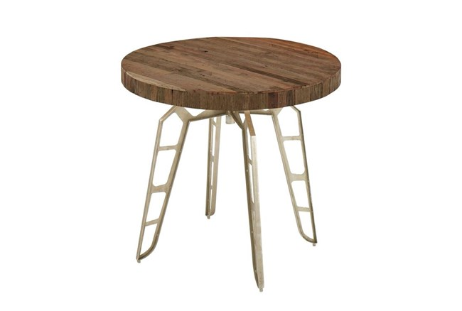 33 Inch Industrial Round Table - 360