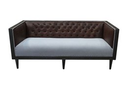 Leather Upholstery Mix Sofa