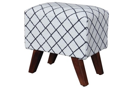 Triangle Stripe Stool