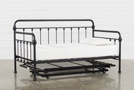 Knox Metal Daybed With Pop-Up Trundle