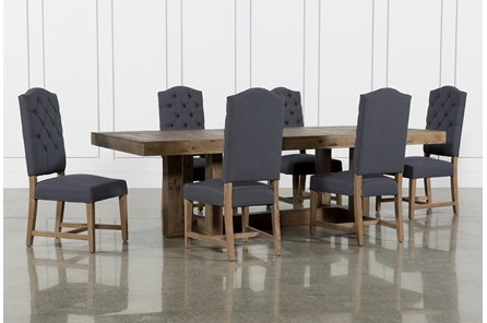Palazzo 7 Piece Rectangle Dining Set With Joss Side Chairs - Main