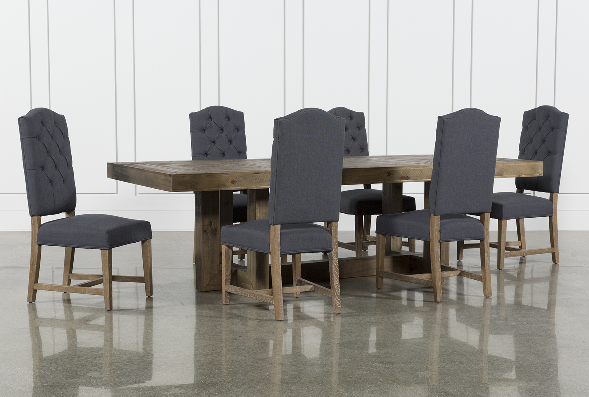Palazzo 7 Piece Rectangle Dining Set With Joss Side Chairs