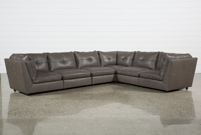 Adele Grey 6 Piece Sectional - 360