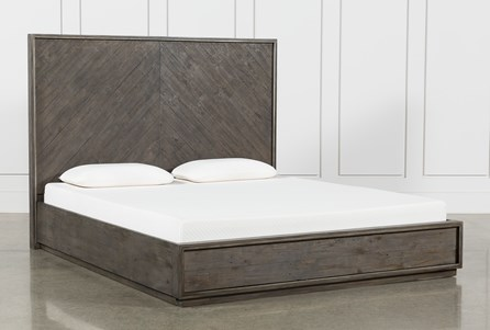 Logan Eastern King Panel Bed