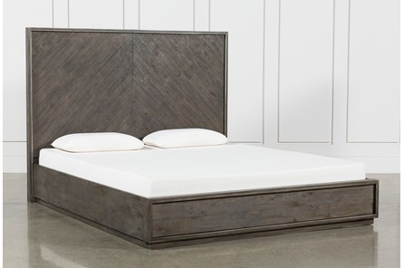 Logan Eastern King Panel Bed - Main