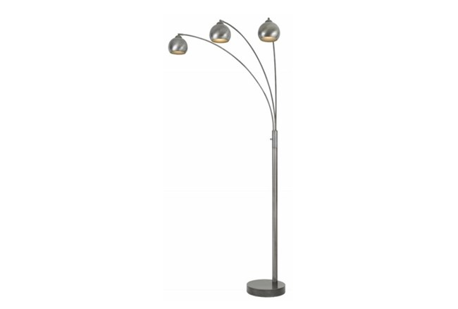 Floor Lamp-3 Bulb Arc Base - 360