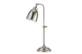 Table Lamp-Pharmacy Table Lamp Brushed Steel
