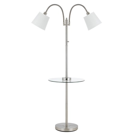 Floor Lamp-Gooseneck With Table