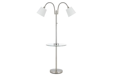 Floor Lamp-Gooseneck With Table - Main