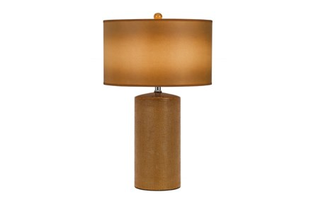 Table Lamp-Gold Ceramic - Main