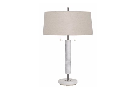Table Lamp-Mixed Marble - Main