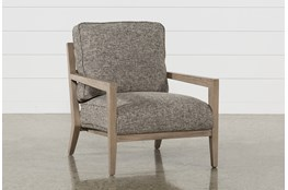 Caressa Grey Accent Chair