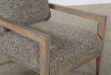 Caressa Grey Accent Chair - Top