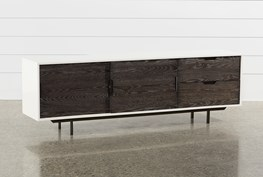 Bale Rustic Grey 82 Inch TV Stand