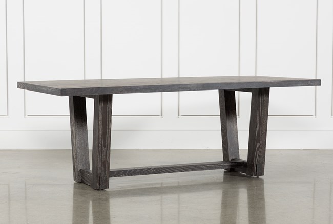 Bale Rustic Grey Dining Table - 360