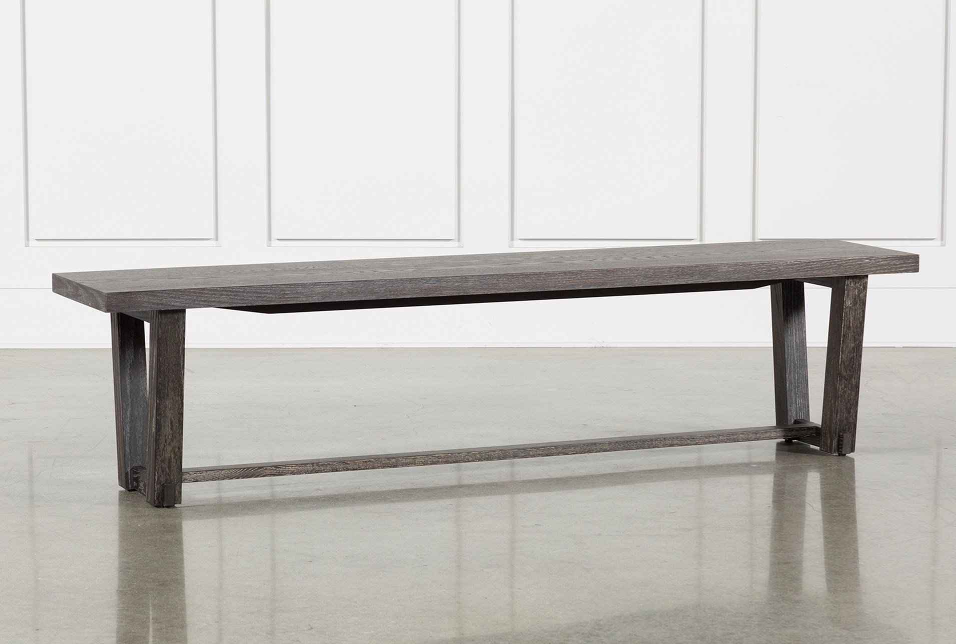 Bale rustic grey dining bench qty 1 has been successfully added to your cart