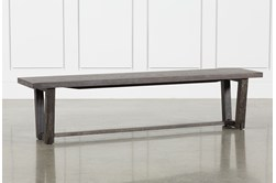 Bale Rustic Grey Dining Bench