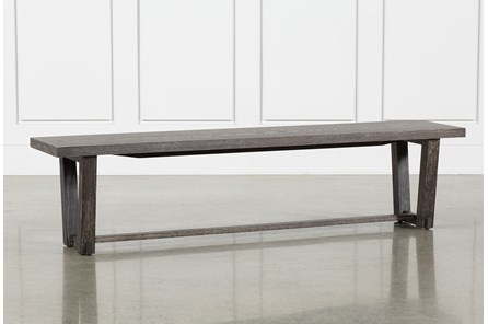 Bale Rustic Grey Dining Bench - Main